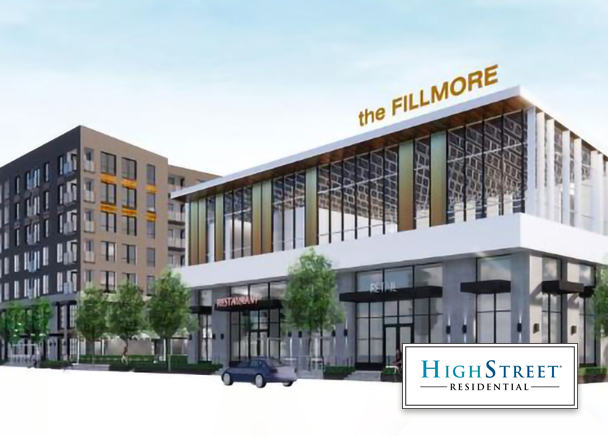 High Street Residential Begins Construction on First Phase of The Fillmore in Downtown Phoenix
